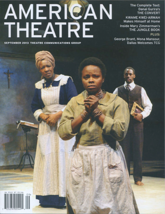 American Theater Magazine-September 2013 Issue